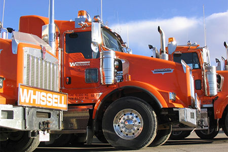 Whissell Heavy Hauler Transportation Services